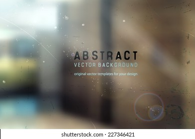 abstract blurred architectural background with natural lighting