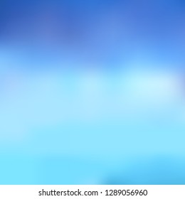 Abstract blurred background in blue tones. Excellent as a background for the production of any