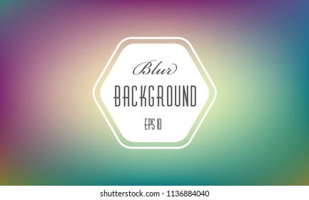 Abstract blurred background. Colorful modern soft lights. Multicolor rainbow neon glow. Blur trend iridescent wallpaper. Fluid holographic warm red gradient . For banner,poster or web design