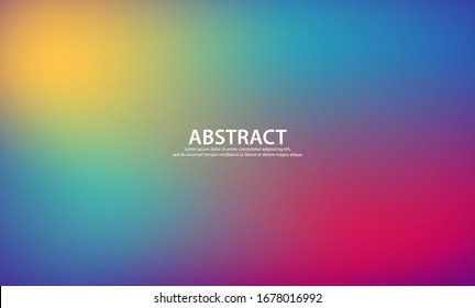 Abstract blurred background of gradient