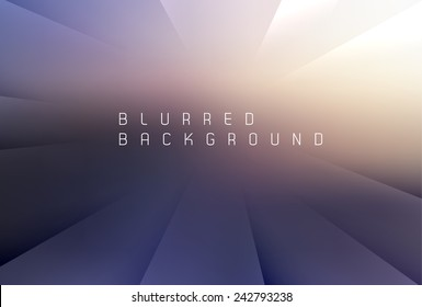 Abstract blurred background with place for your text