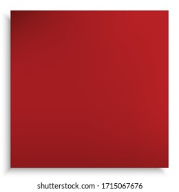Abstract blurred background for your projects. Cool backdrop with smooth and soft shadow. Vector illustration theme. Red trendy and easy editable colored banner template.
