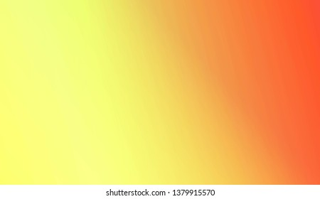 Abstract Blurred Gradient Background. For Bright Website Banner, Invitation Card, Screen Wallpaper. Vector Illustration