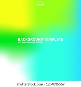 Abstract blurred gradient mesh background. Colorful smooth banner template. Easy editable soft colored vector illustration in EPS10. New abstract modern screen vector image pattern picture