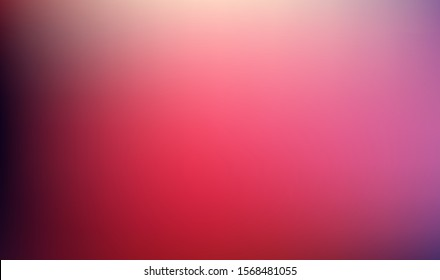 Abstract blurred gradient mesh background in bright colors. Colorful smooth banner template.