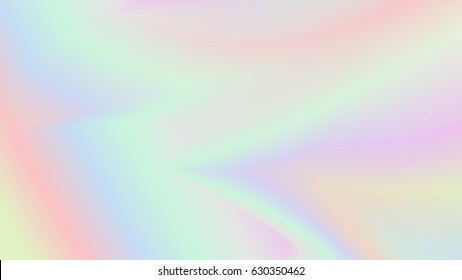Abstract blurred holographic vector background
