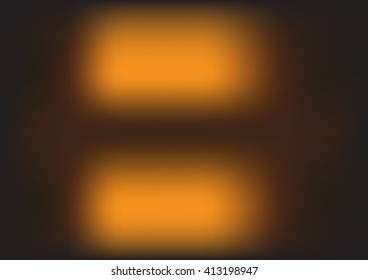 Abstract blurred light background with orange