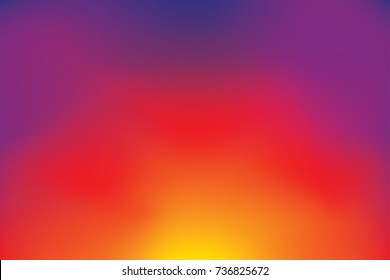 abstract blurry gradient mesh background in bright colors, colorful smooth template, editable and layered