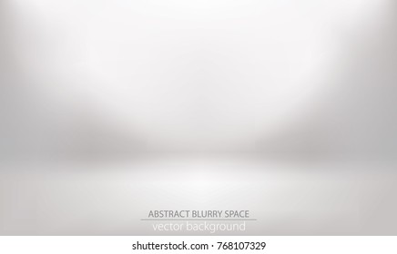 abstract blurry gradient mesh background like white room interior, editable and layered