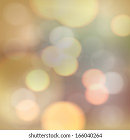 Abstract blurry lights background design  Eps 10 vector illustration