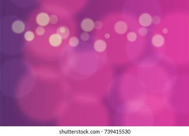 Abstract bokeh colorful circles