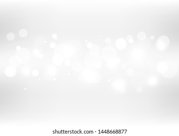 Abstract bokeh lights with soft light background illustration.
