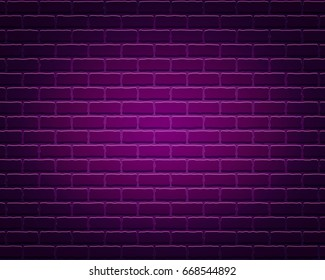 Abstract brick wall texture background. Stone blocks. Architecture wallpaper. Vector illustration