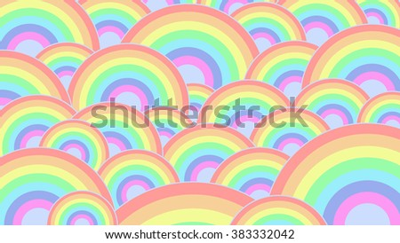 Abstract bright rainbow wallpaper