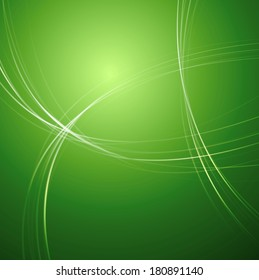 Abstract bright vector smooth lines design