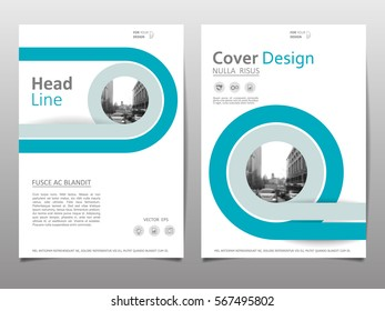 Abstract brochure cover design on a4. Cover design template for annual report. Abstract modern vector illustration. Abstract presentation templates.