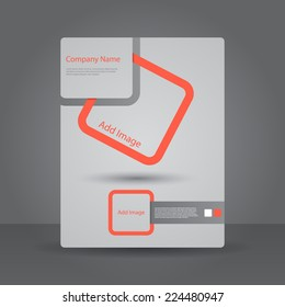 Abstract Brochure Design template.
