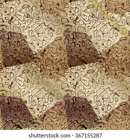 Abstract brown, beige and white mottled background resembling old marble floor