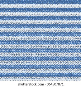 Abstract brushed breton stripes. Seamless pattern.
