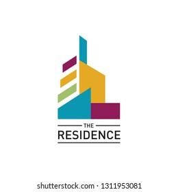 abstract building ideas design vector. Real estate logo template.