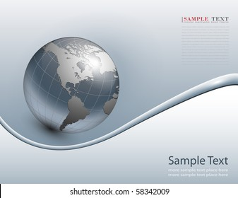 abstract business background grey, vector.