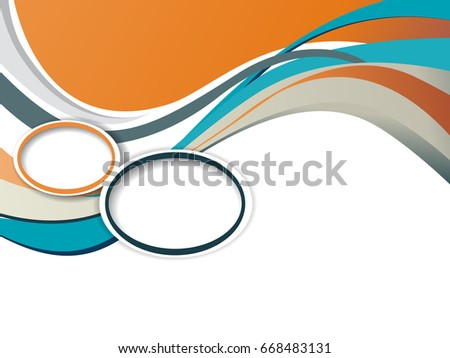 Abstract business background layer template brochure stock vector abstract business background layer template for brochure or flyer accmission Image collections