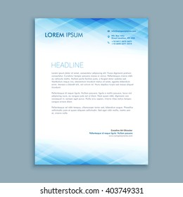 Letterhead template images stock photos vectors shutterstock abstract business letterhead template accmission Choice Image