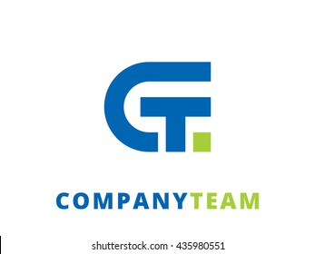Abstract business logo design template, emblem template editable for your design.