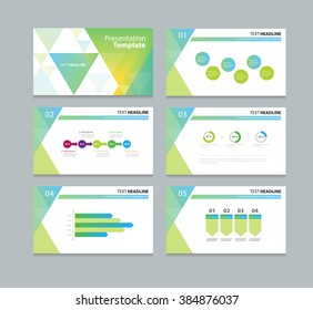 abstract business template presentation