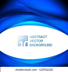 abstract business wave background - vector