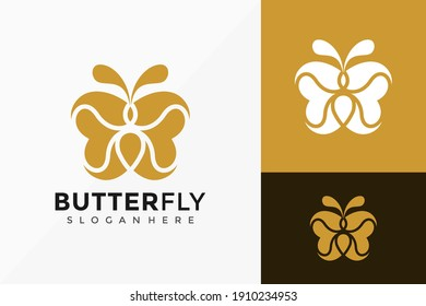 Abstract Butterfly Logo Design, creative modern Logos Designs Vector Illustration Template