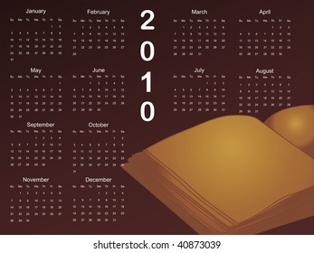abstract calender background with isolated note book