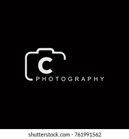Abstract Camera with C Initials