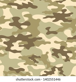 abstract camouflage military seamless vector pattern for clothing and wallpaper