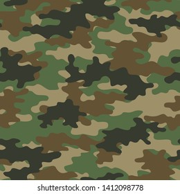 abstract camouflage pattern seamless vector background