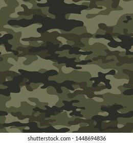 abstract camouflage pattern seamless vector