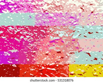 abstract candy color rough texture vector background