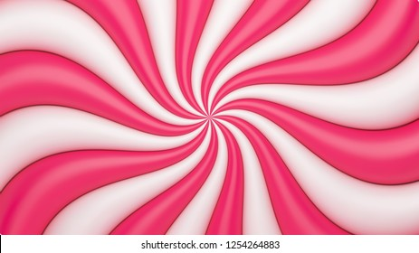 Abstract candy vector background.