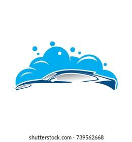 Abstract Car Wash Logo