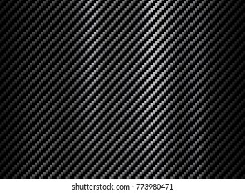 Abstract carbon fiber texture background. Vector illustration.