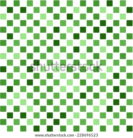 Abstract Checker Pattern Random Green Colors Stock Vector Royalty Gorgeous Checker Pattern