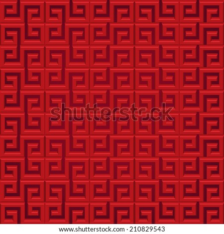 abstract chinese new year background 3 d graphic for frame and pattern