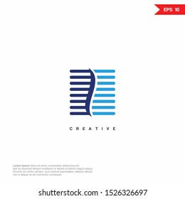 Abstract chiropractic modern Logo icon design. Vector graphic design template element. Graphic Symbol for Corporate Business Identity. eps10