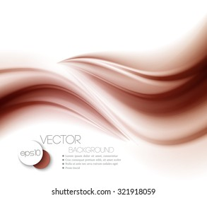 Abstract chocolate background, brown abstract satin. Vector illustration