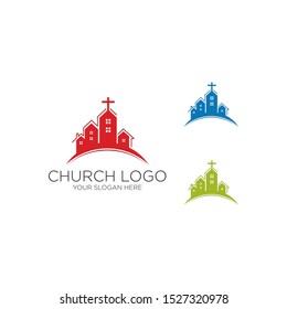 Abstract Christian logo design vector cross logo template / download symbol design cross vector symbol
