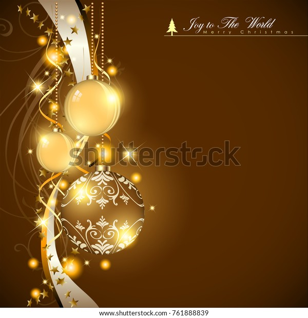 Abstract Christmas Background. Christmas Tree Concept. Vector and Illustration, EPS 10