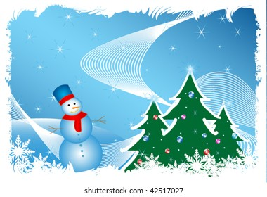 abstract christmas vector background