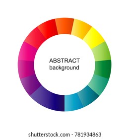 Abstract circle background. Vector geometric pattern. Modern design colorful background.