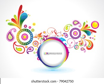 abstract circle exploration background vector illustration
