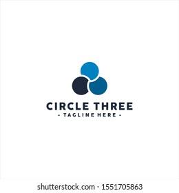 Abstract Circle logo template design inspiration